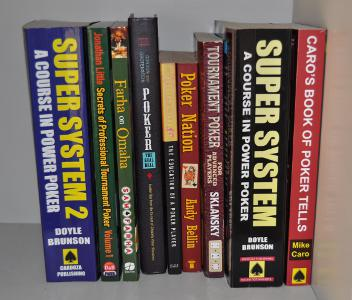 pokerio knygos