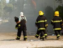 Firemen at work 1