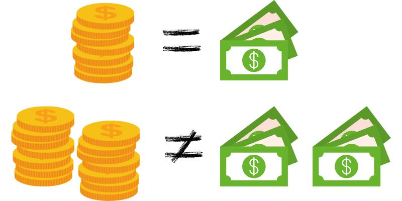 Pokerio žetonų reikšmės nevisada vertos vienodos sumos