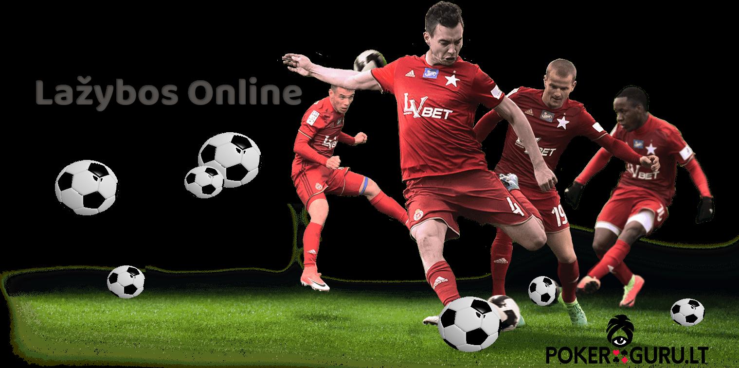 Lažybos online - Futbolo komanda