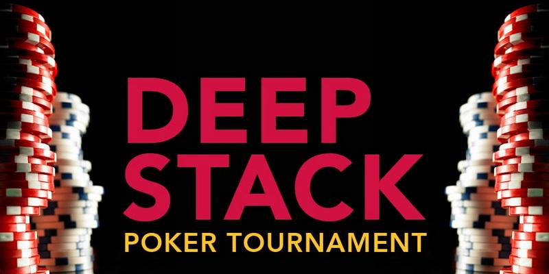 Deep stack pokerio turnyras