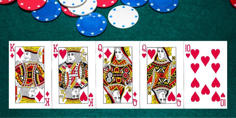 Dvi poros - pokerio taisyklės ir deriniai