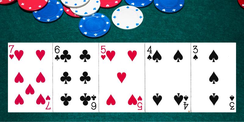 Eilės pokerio kombinacija