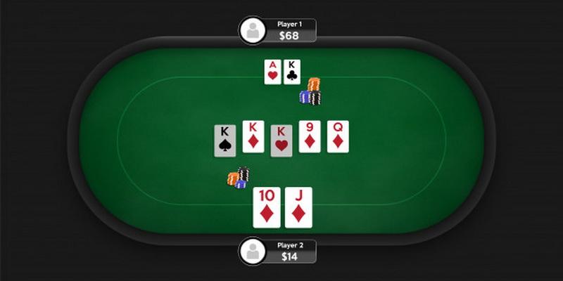 Nemokamas pokerio žaidimas internete ir du jo žaidėjai