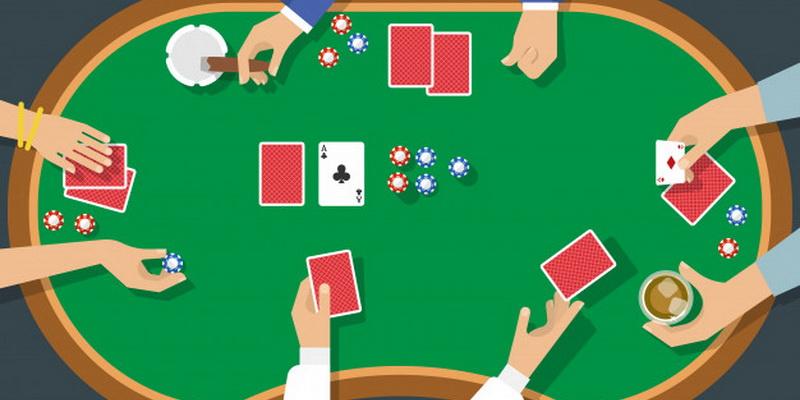 Pokerio gudrybės, kurias atlieka žaidėjai prie stalo