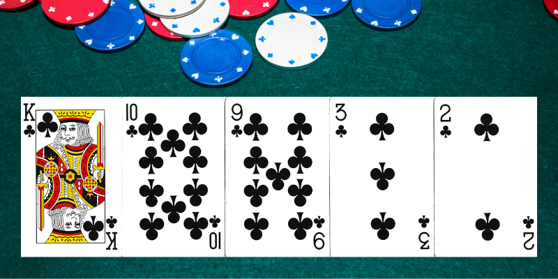 Spalva - pokerio deriniai