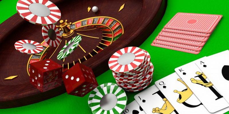 Casino žaidimai ir žetonai, skirti statymams juose