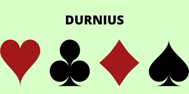 Durniaus žaidimas kortomis Durak taisyklės