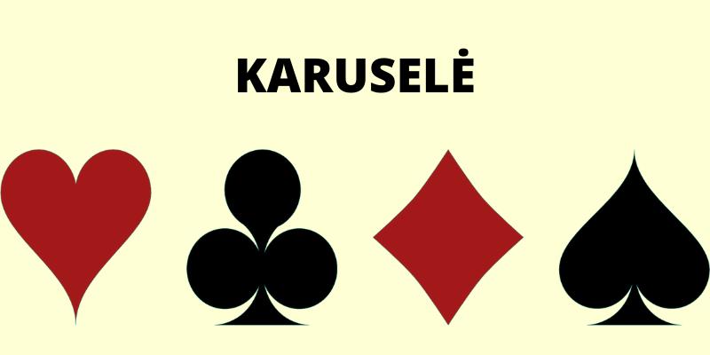 Keturi kortų simboliai - Karuselė