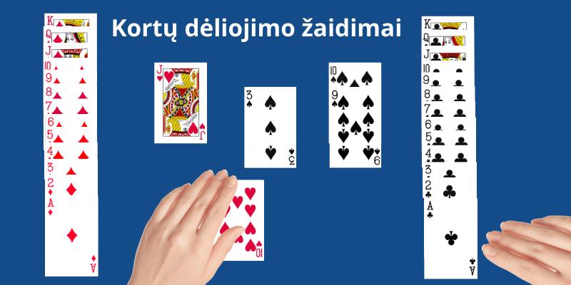 Kortų dėliojimas ir žaidimų taisyklės