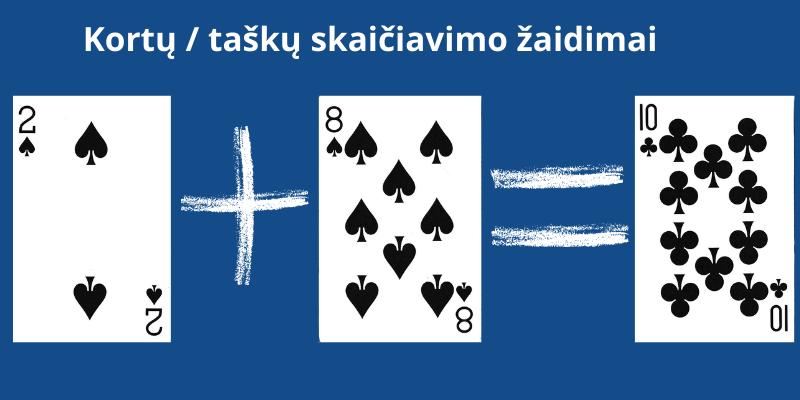 Kortų lošimai ir žaidimai dviems - skaičiuojamos kortos Karuselės žaidime