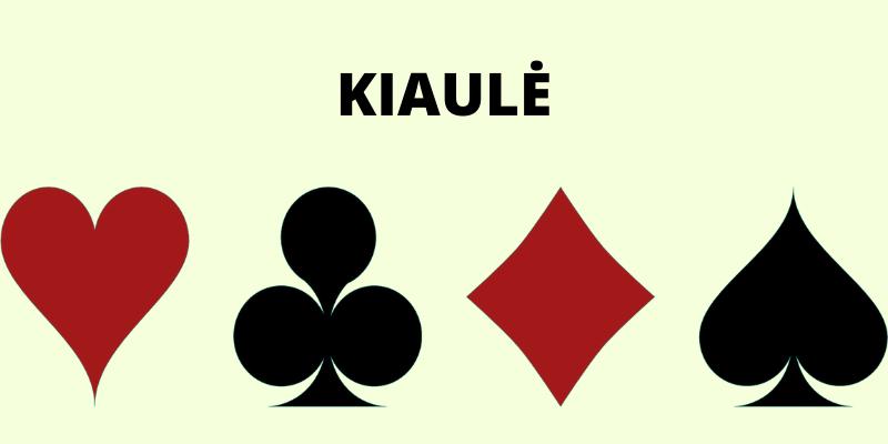 Kortų lošimas ir žaidimų pavadinimai - Kiaulė