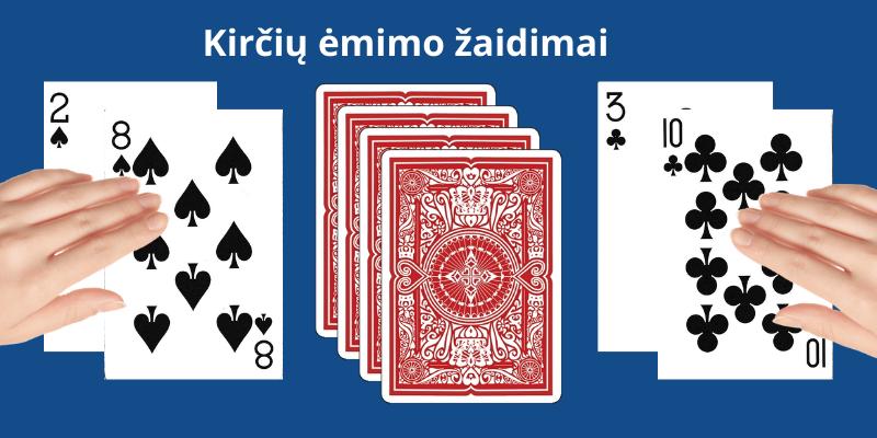 Kortų žaidimai suaugusiems Karas ir Tūkstantis - kirčių ėmimas