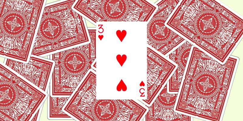 Kortų žaidimas Kiaulė taisyklės - 1 pavyzdys