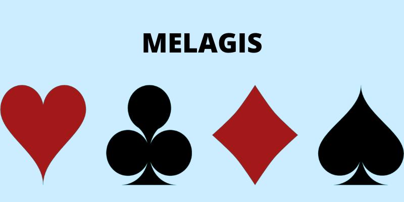 Melagis kortų žaidimas taisyklės - skirtingos kortos ir jų simboliai