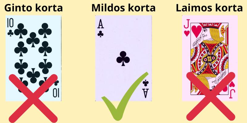 Tūkstantis žaidimo taisyklės - 4 pavyzdys