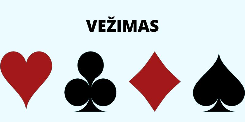 Vežimas - kortų lošimas dviese