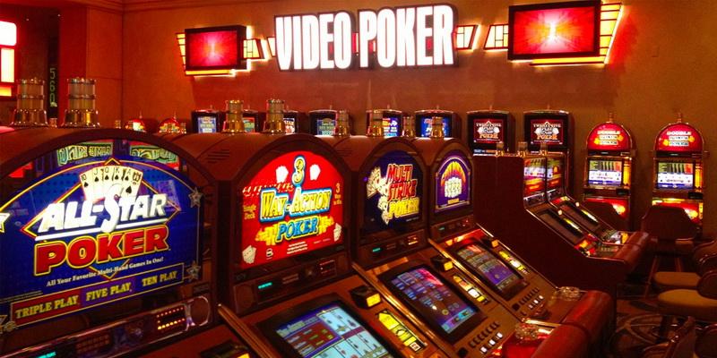 Video pokerio žaidimų automatai