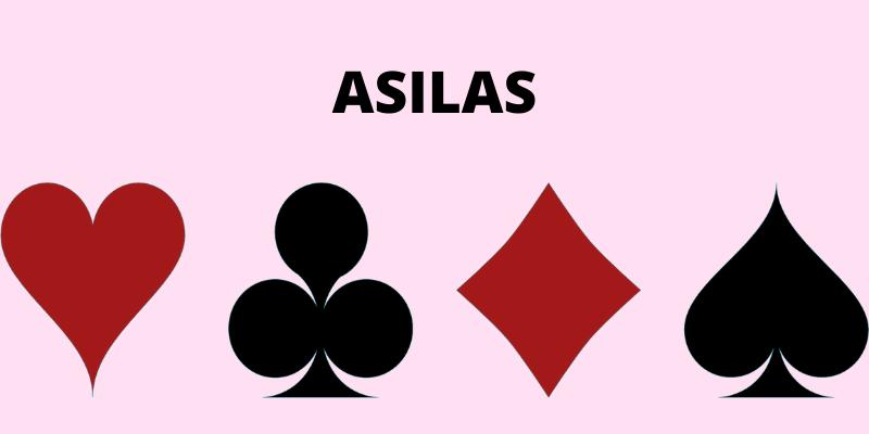 Žaidimai su kortomis dviems - Asilas taisyklės