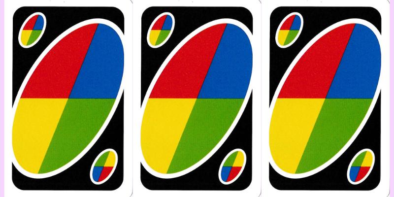 Kortų ir žaidimų pavadinimai - Uno spalvą keičiančios kortos